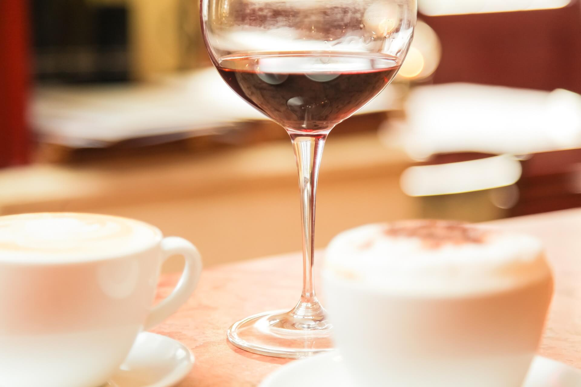 コーヒー ワイン